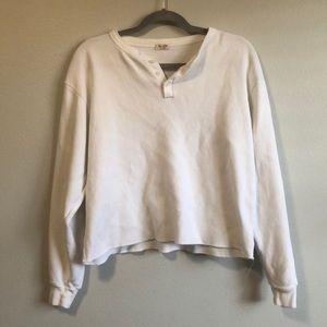John Galt thermal sweater